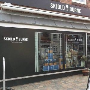 Sjold Burne ny butik
